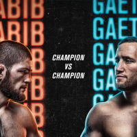 UFC 254 poster revealed for Khabib Nurmagomedov vs Justin Gaethje on Oct. 24