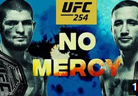 UFC 254 promo video for 'Khabib vs Gaethje' on Oct. 24 in Abu Dhabi shows 'No Mercy'