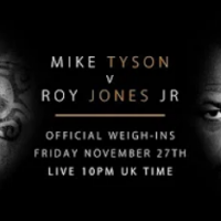 Live weigh-ins: Mike Tyson vs Roy Jones Jr