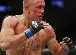 Georges St-Pierre admits he 'hated' fighting — 'I cried but when I won I was happy'