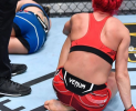 Sarah 'Cheesecake' Moras wants to move to 170lb to fight Ben Henderson…. really!