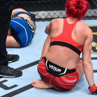Canadian Randa Markos believes she was robbed of UFC victory last weekend