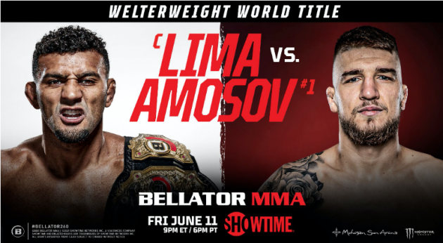 BELLATOR MMA Confirms Full Fight Card for BELLATOR 260 on SHOWTIME Next Friday, June 11 at 9 p.m. ET