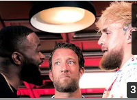 Video: Jake Paul vs Tyron Woodley Face Off gets HEATED!