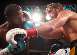 Logan Paul Survives Eight Rounds With Floyd Mayweather