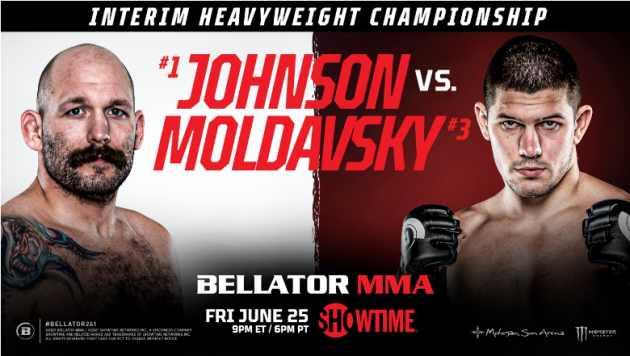 BELLATOR MMA Confirms Full Fight Card for BELLATOR 261 – Live on SHOWTIME This Friday, June 25 at 9 P.M. ET