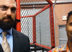 WWE stars talk about Battle Arts Academy at Grand Opening in Mississauga