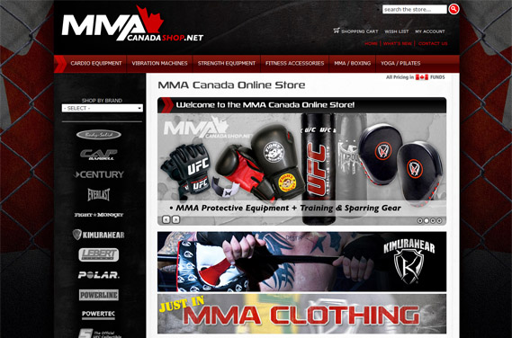 canada 39 s number one mixed martial arts online store. Black Bedroom Furniture Sets. Home Design Ideas