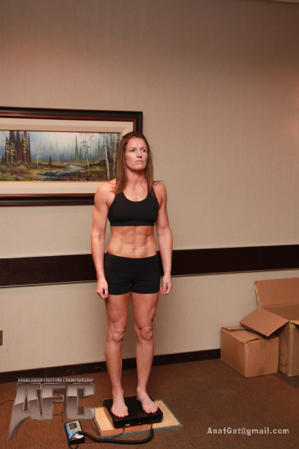 AggressionFC 12 weigh-in photos – Calgary, Alberta
