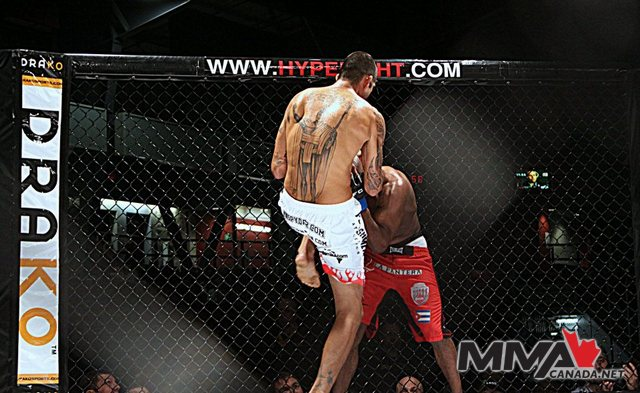 Aggression FC 13 fight pics