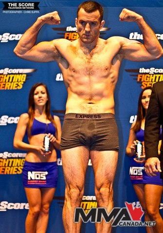 Score Fighting Series (SFS 7) weigh in photo gallery
