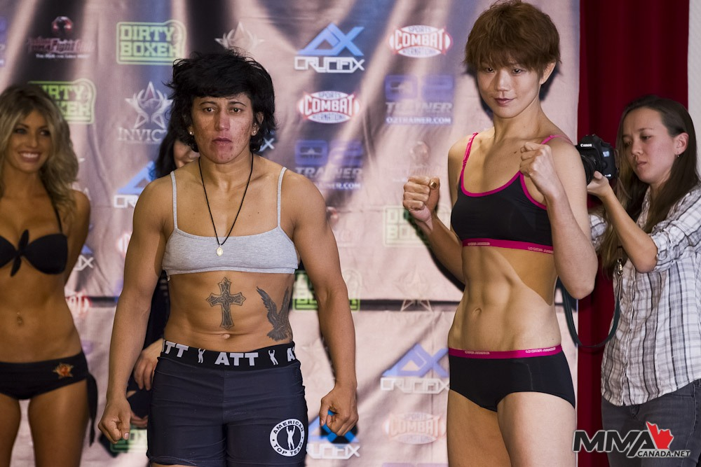 Invicta FC 4 weigh-in results and pics