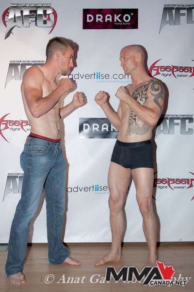 AFC 20: Stampede Fight Night Weigh-In Results and Photos