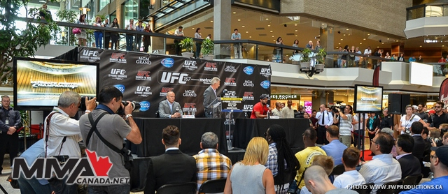Photos: UFC 167 World Tour Coverage from Montreal, Quebec