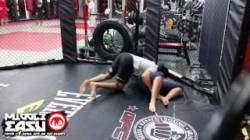 rousey-training