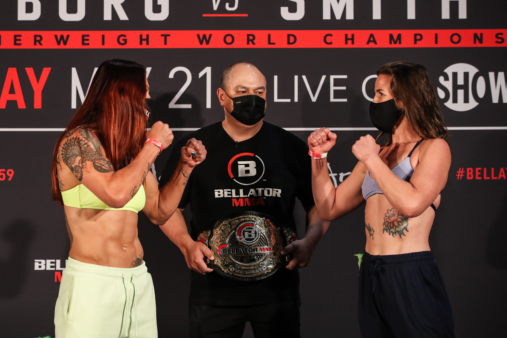 Full Weigh-In Results & Photos for BELLATOR 259: Cyborg vs. Smith 2